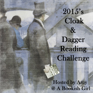 2015 Cloak & Dagger Reading Challenge